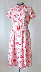 Dress found at an estate sale, completely cut out, but not sewn - Vintage Simplicity 4228 (from 1953)