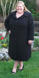 Winter wool coat - based on Burda 7169